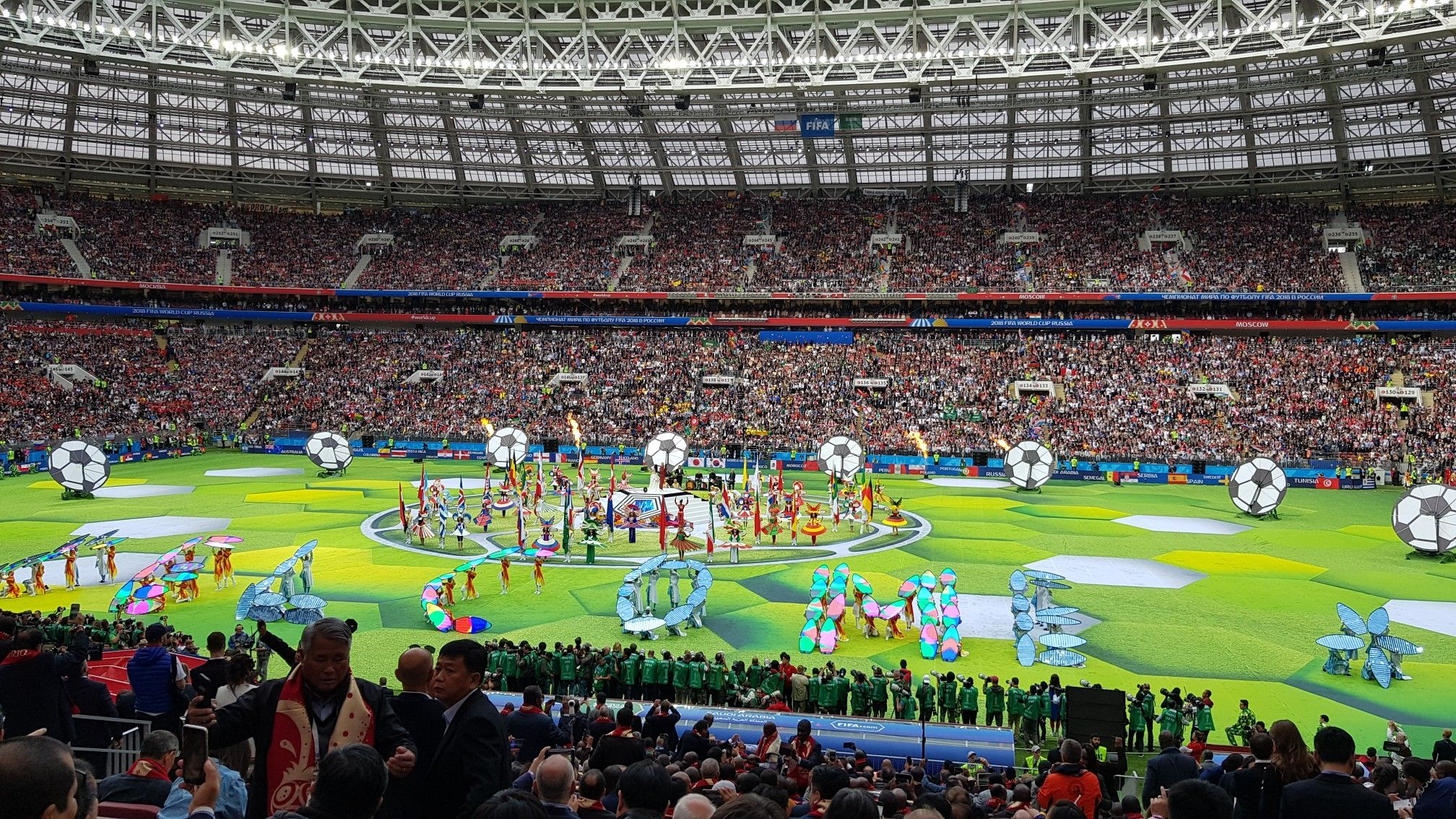 Opening Ceremony Fifa World Cup 2018 World Cup 2018 World Cup Fifa World Cup