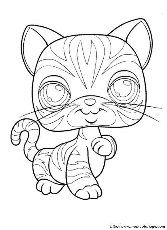 picture cat-petshop.jpg | !My coloring pages | Pinterest | Colorear ...