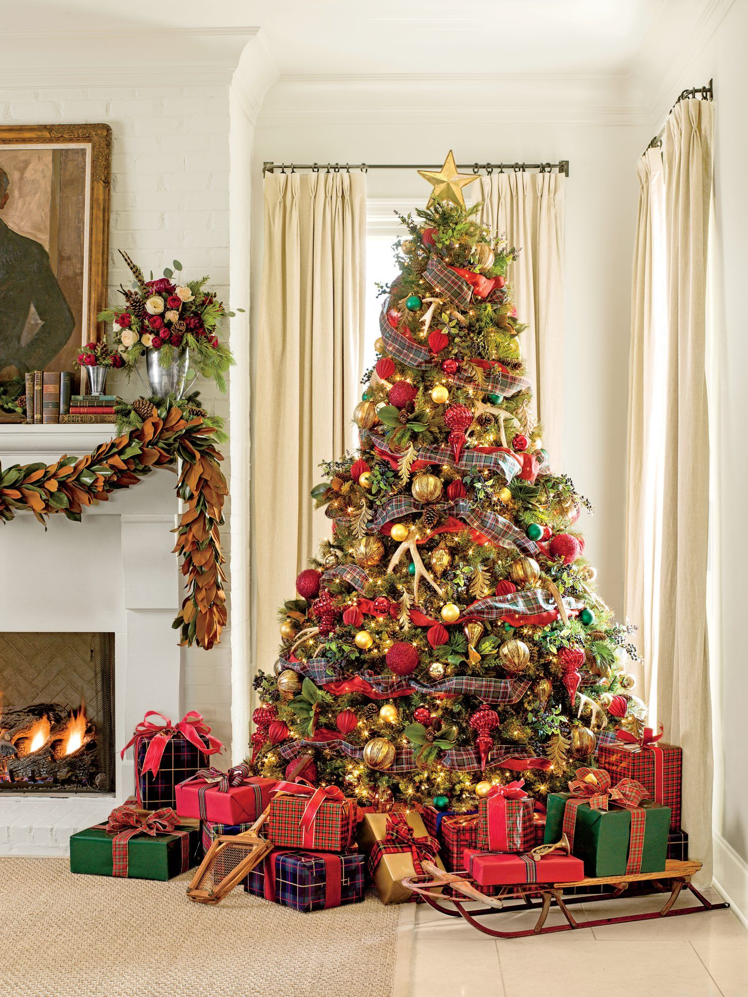 100 Best Ever Christmas Decorating Ideas Peacock Christmas Tree Holiday Decor Christmas Holiday Decor