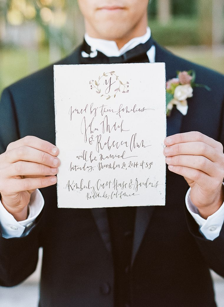 Kimberly Crest Wedding, Kimberly Willis Holmes Wedding Gown, Bouquet, Wedding Flowers, Wedding Inspiration, European Wedding, Wedding Photography, Wedding Portrait, Bride Portrait, Film Wedding Photography, Calligraphy