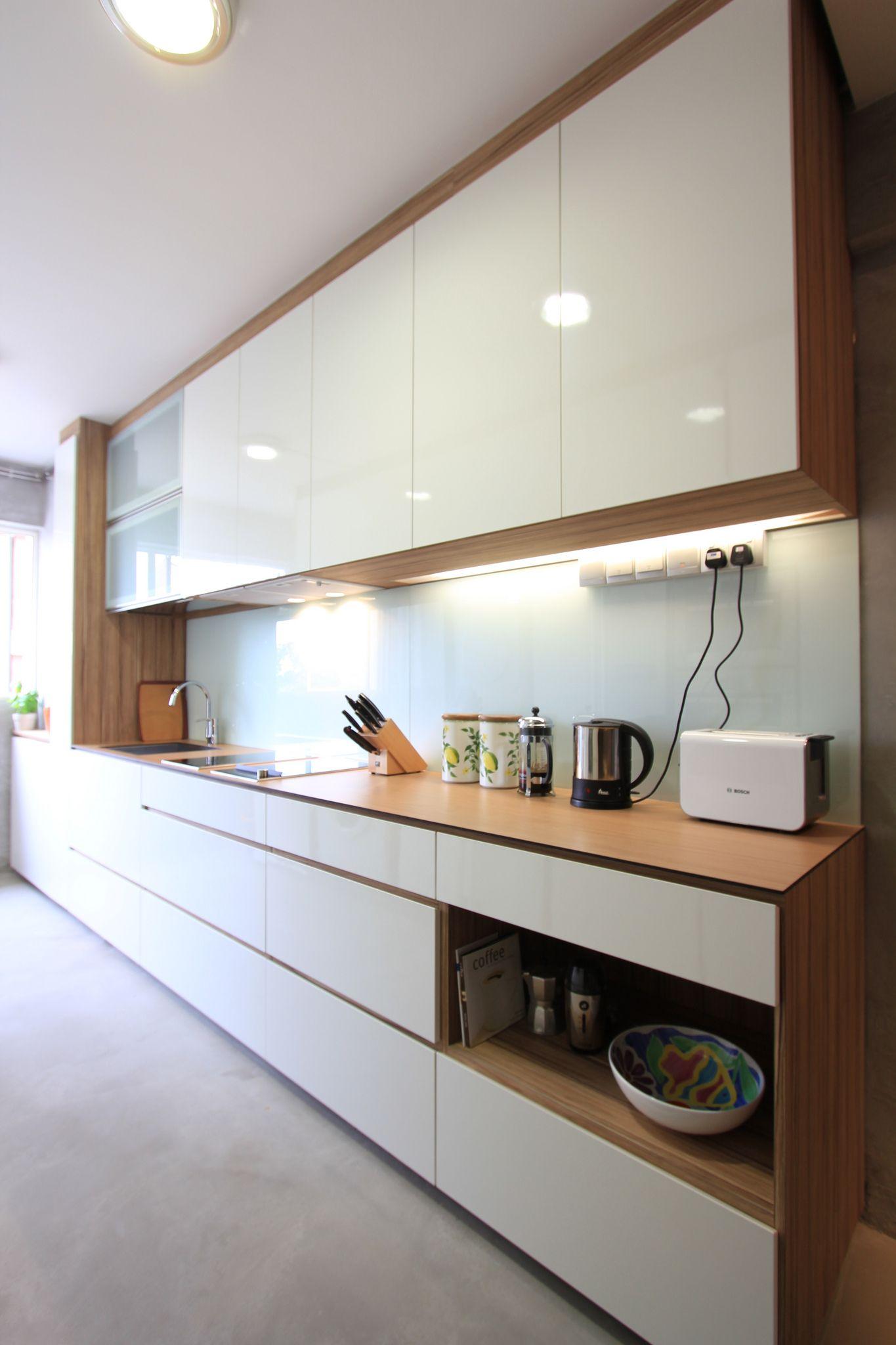 Kompactop 10 20 Boston Chery Modern Kitchen Cabinet Design Kitchen Inspiration Design Kitchen Design Small