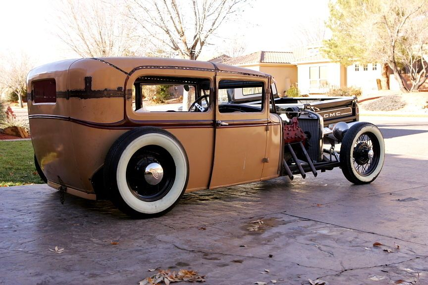 930 Ford Model A Tudor Sedan Hot Rod, Rat Rod, Traditional, Flathead ...