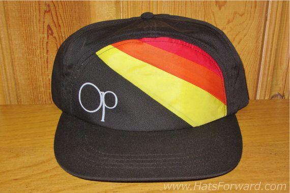 2fca83e3ee4 OCEAN PACIFIC Original Vintage 80s OP Snapback Hat by HatsForward ...