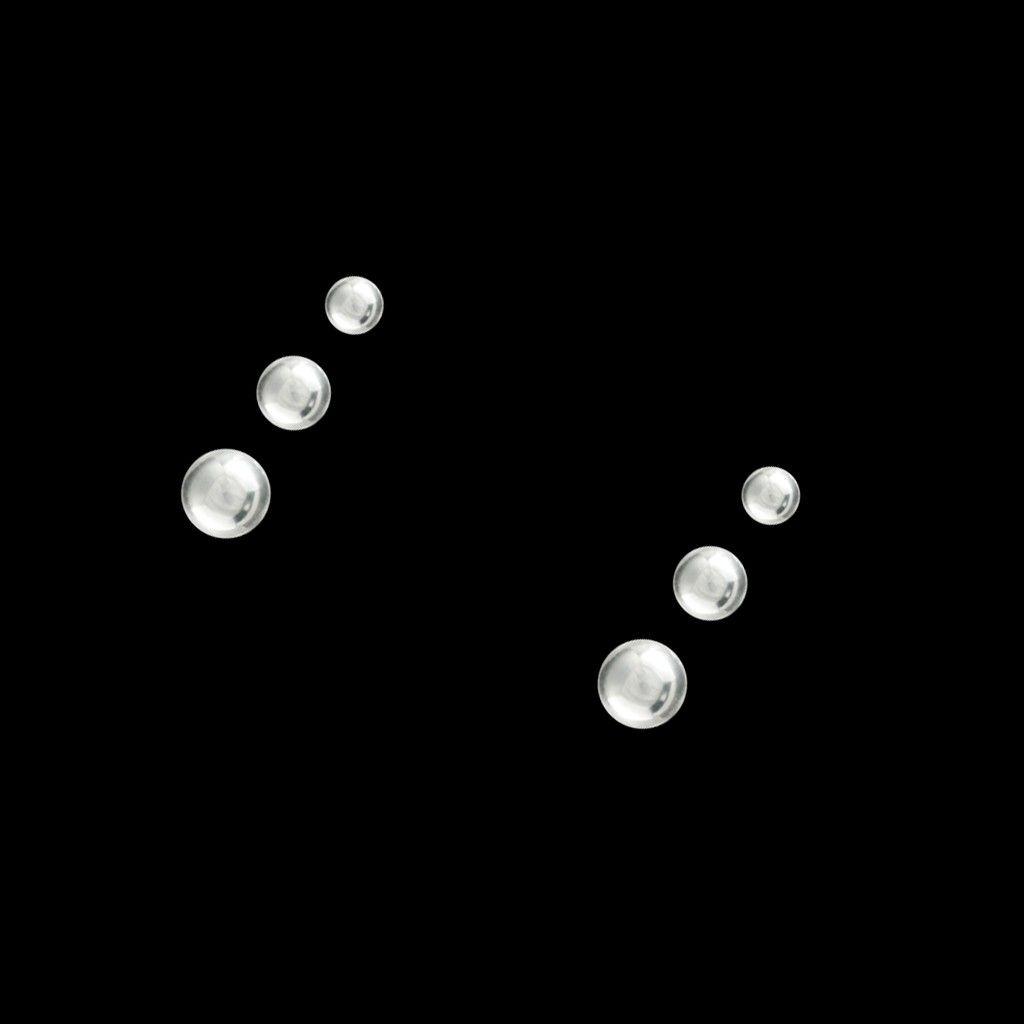 3 Brincos Bola em Prata Leve | Três nunca são demais! ♥