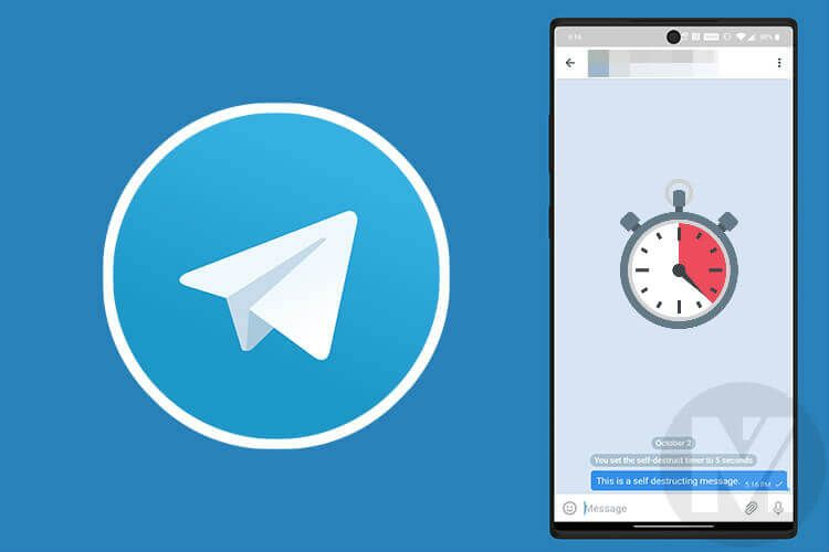 How to Send Self Destructing Message in Telegram