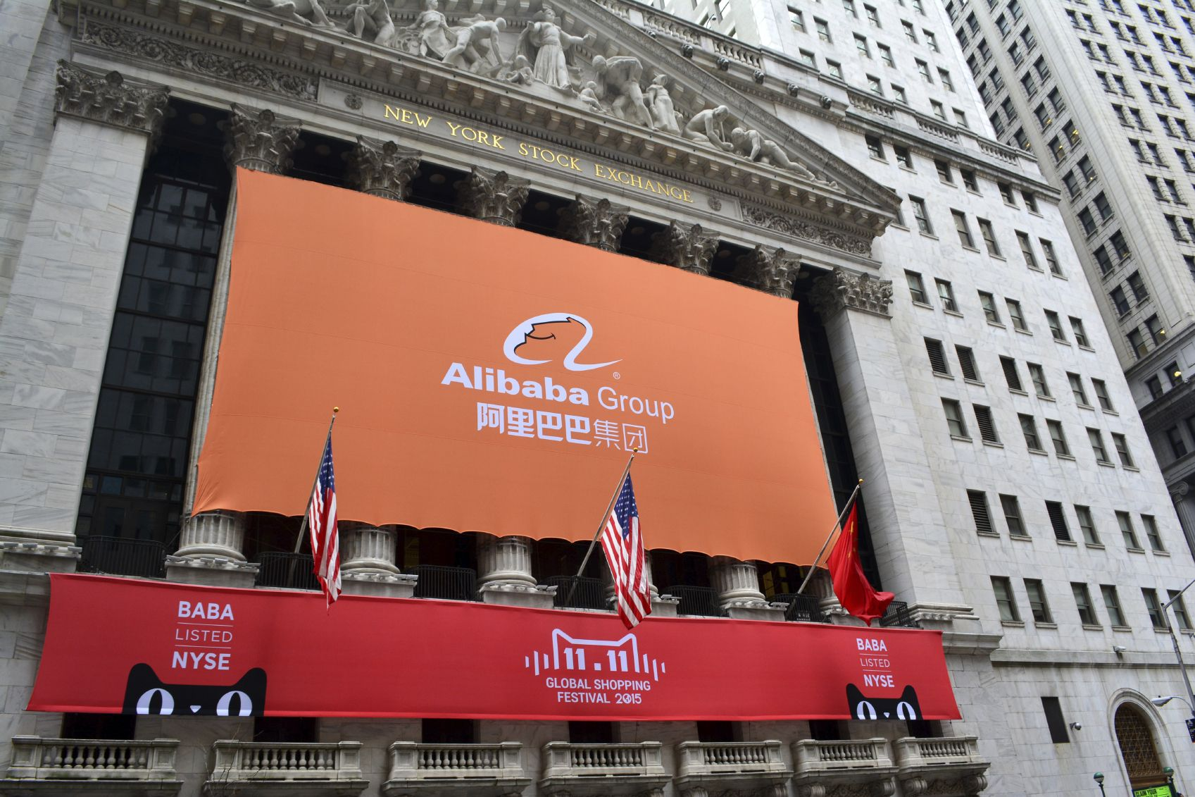 Hot Tech stock to watch Alibaba Group Holding Ltd (NYSE