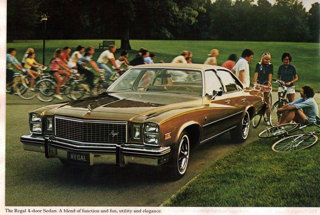 1976 Buick Regal 4 Door Sedan Buick Regal Buick Sedan