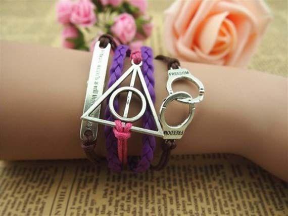 Ancient silver eternal love Harry Handcuff by Beautifuljewelrys, $4.88
