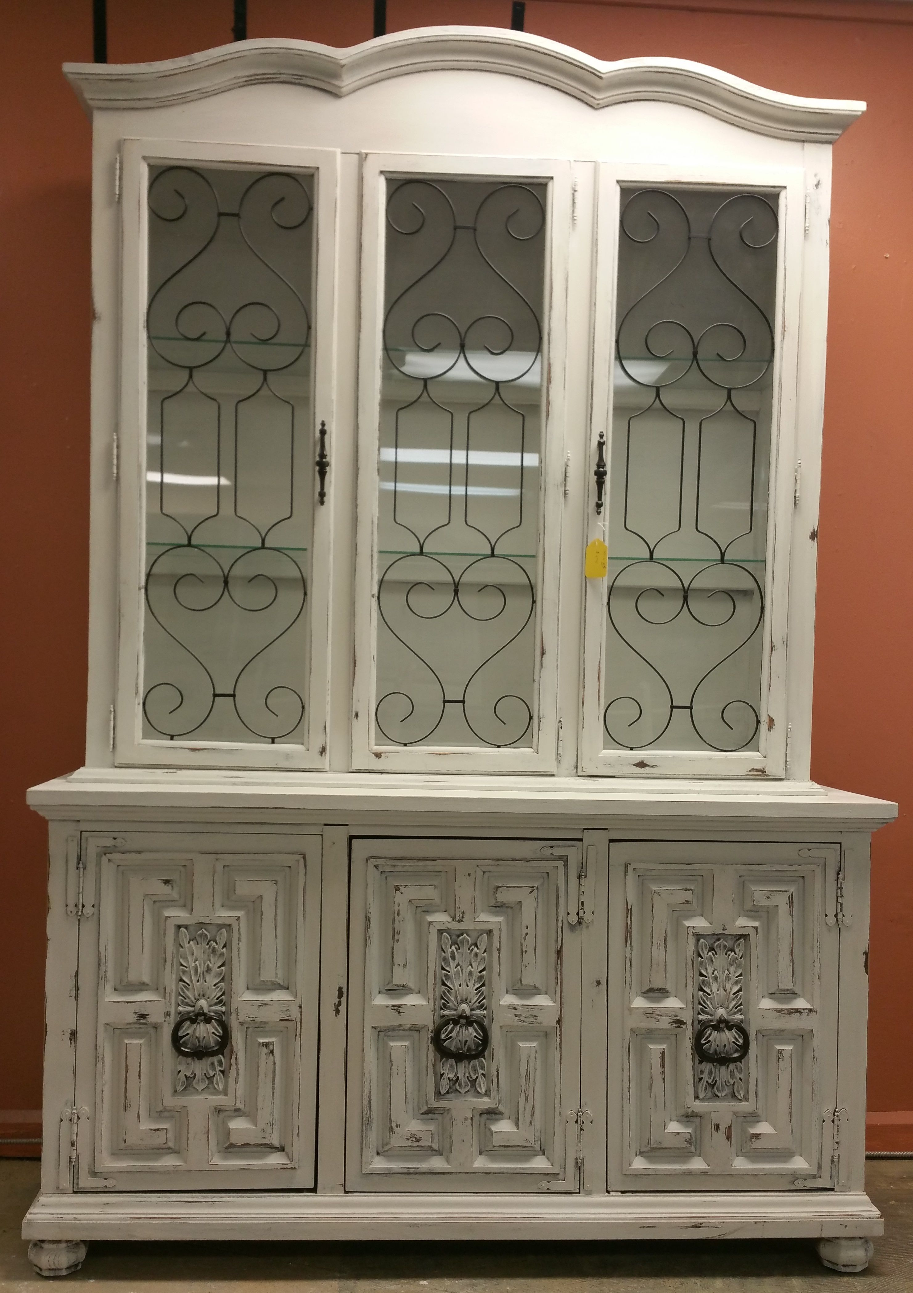 Check Out This GORGEOUS Display Cabinet Its Perfect As A China Hutch For The Dining Room But You Could Pretty Much Anything Wanted In It