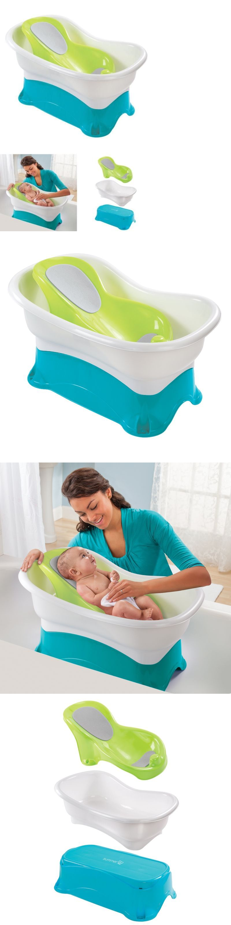 Bath Tubs 113814: Infant Comfort Height Bath Tub -> BUY IT NOW ONLY ...