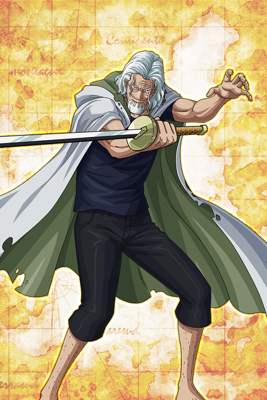 silver rayleigh one piece in 2021 one piece anime rayleigh silver rayleigh wallpaper
