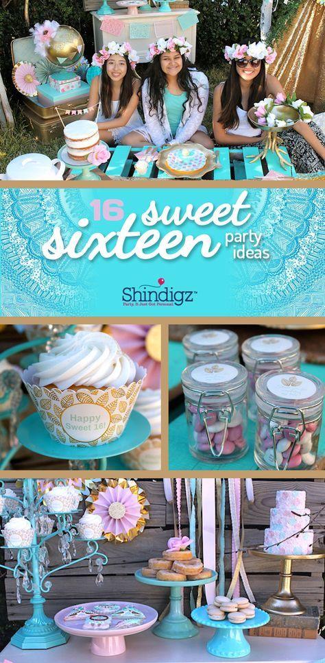 Boho Themed Birthday Party: Sweet 16 Ideas - Shindigz