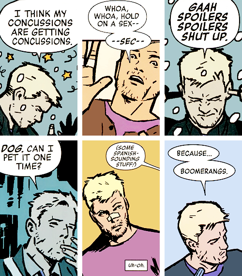 I totally respect your right to an opinion, but if you do not love Clint Barton, you are wrong.