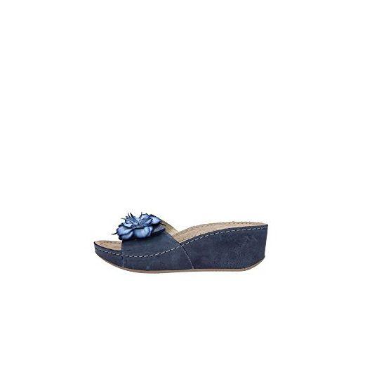 Damen Clogs & Pantoletten blau blau, blau - blau - Größe: 40 EU GrÜnland
