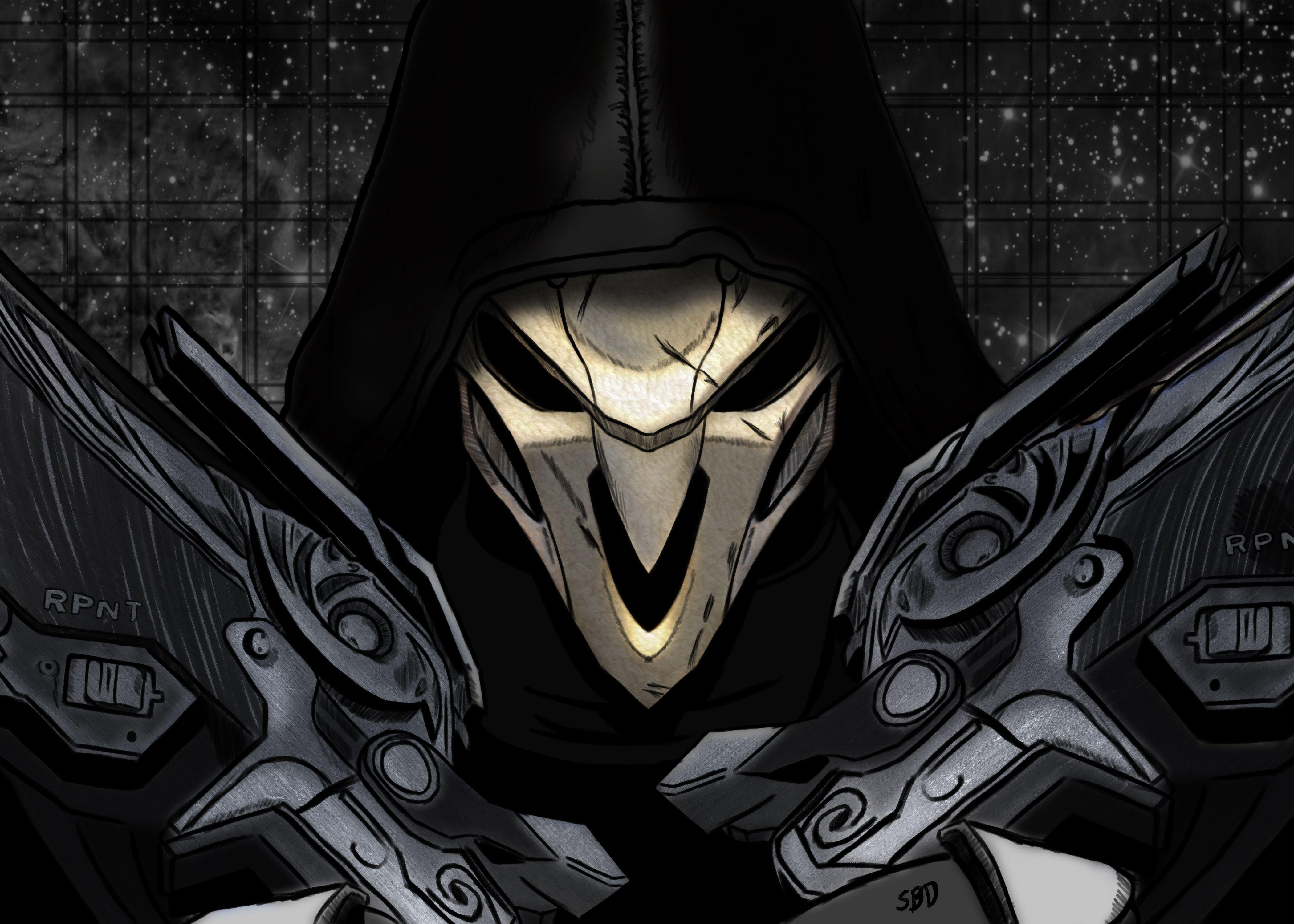 Video Game Overwatch Reaper Wallpaper Overwatch