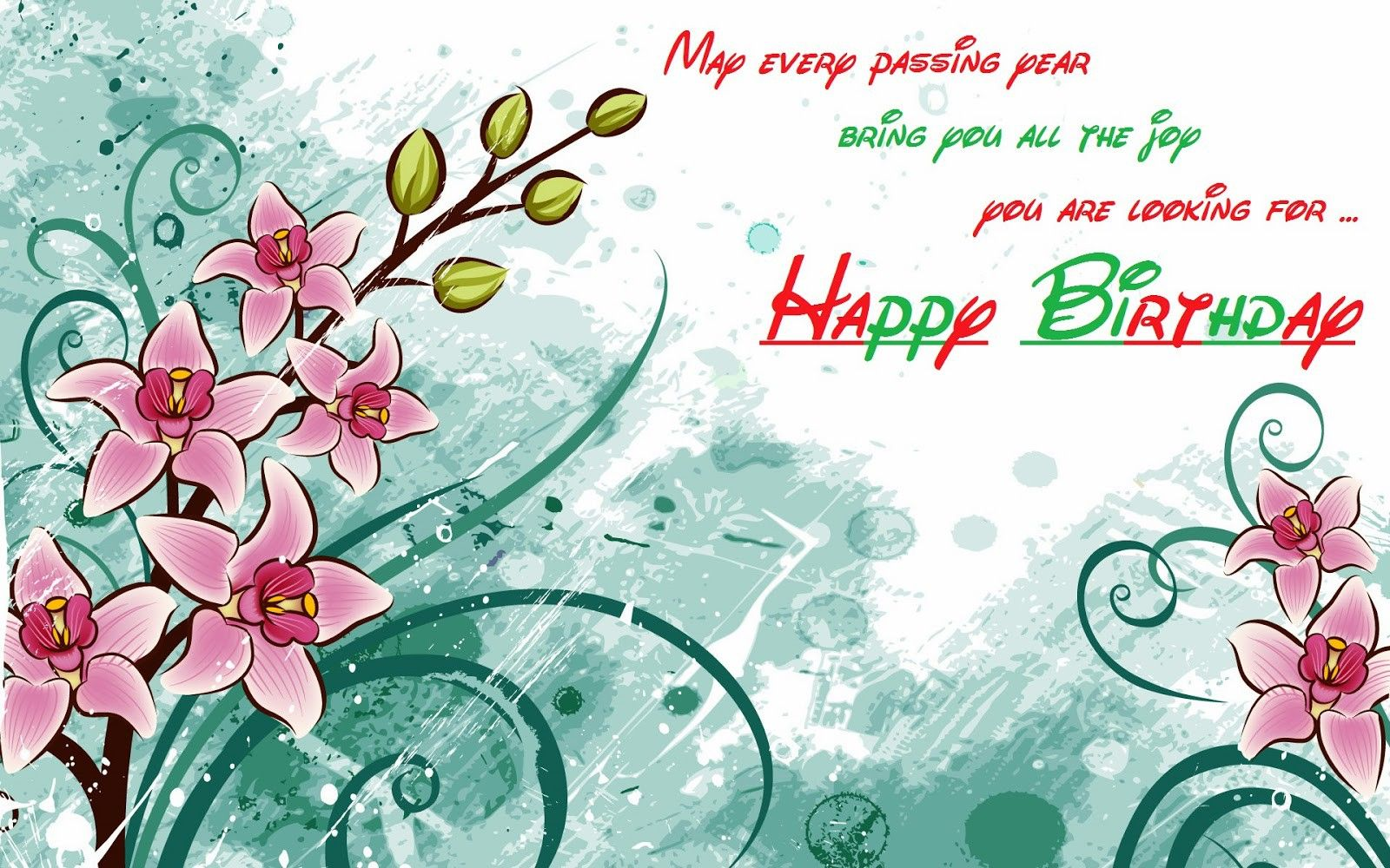 Happy Birthday Wishes Images Hd ~ Happy birthday wallpapers pics images names pinterest