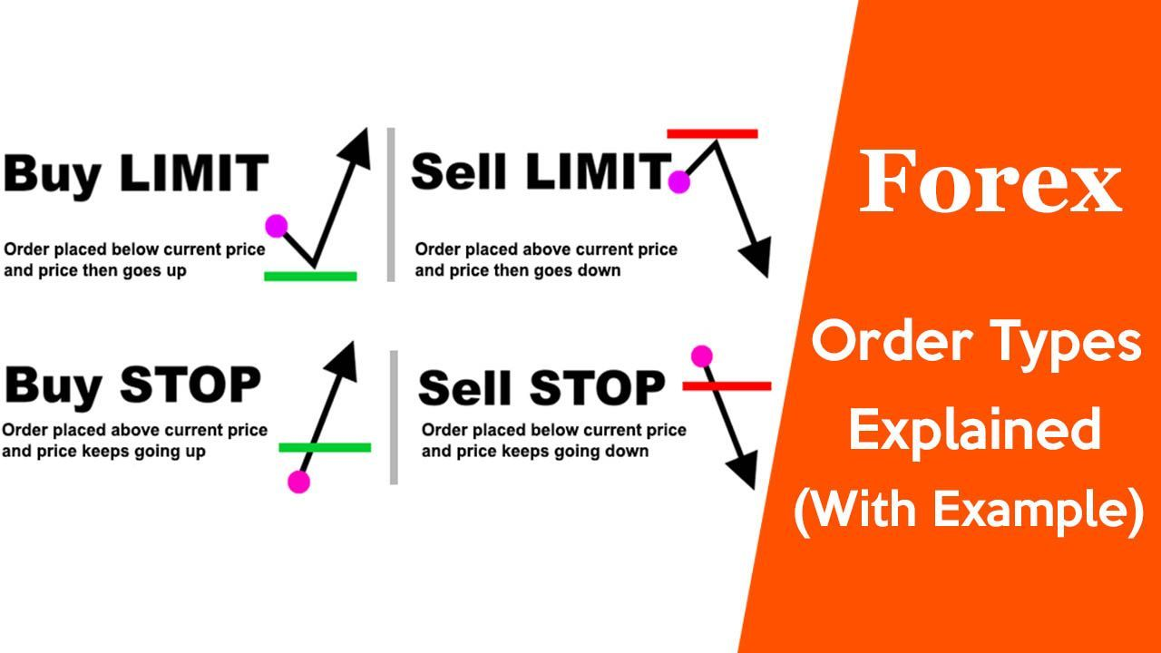 Forex Order Types Explained Different Types Of Forex Orders