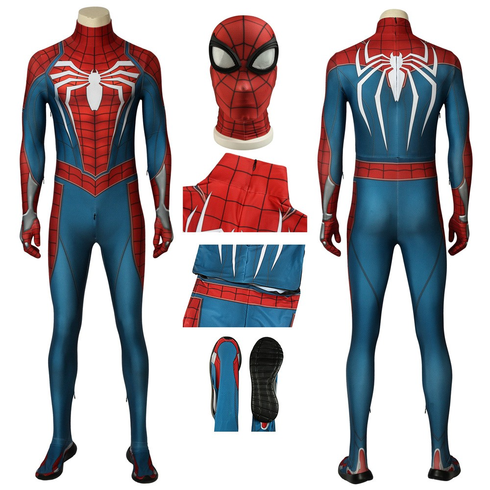Ps4 Spider Man Advanced Suit Spiderman Cosplay Costume Spiderman Cosplay Spiderman Spiderman Costume