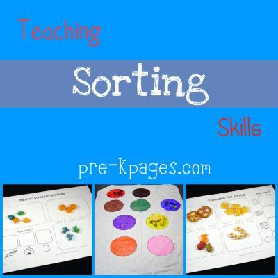 preschool sorting activities pre school ideas preschool math preschool kids learning. Black Bedroom Furniture Sets. Home Design Ideas