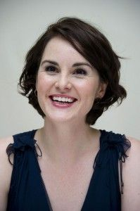 Lady Mary goes flapper? Michelle Dockery recently unveiled a shapely bob.