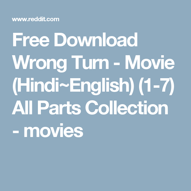 saw 6 movie in hindi dubbed download all parts