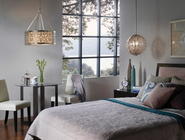 Globe and round light fixture hanging lights for bedroom decolover net