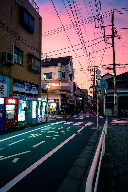 Tokyo Fashion Photography Tumblr Pemandangan Latar Belakang Jepang Tokyo