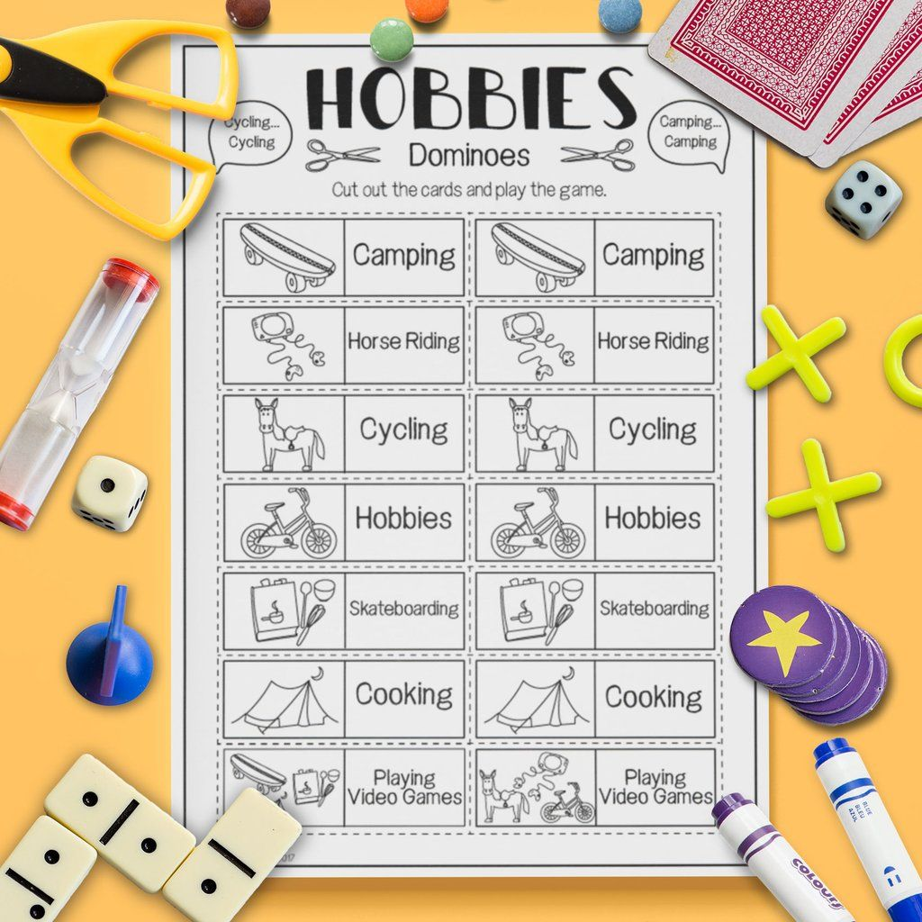 Hobbies Dominoes Game