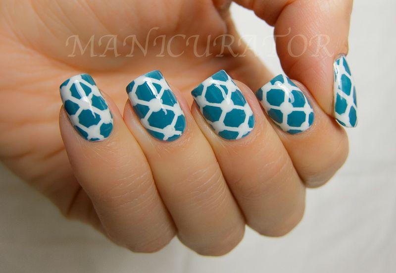 Manicurator Lattice Nail Art Tutorial These Will Make A Cute