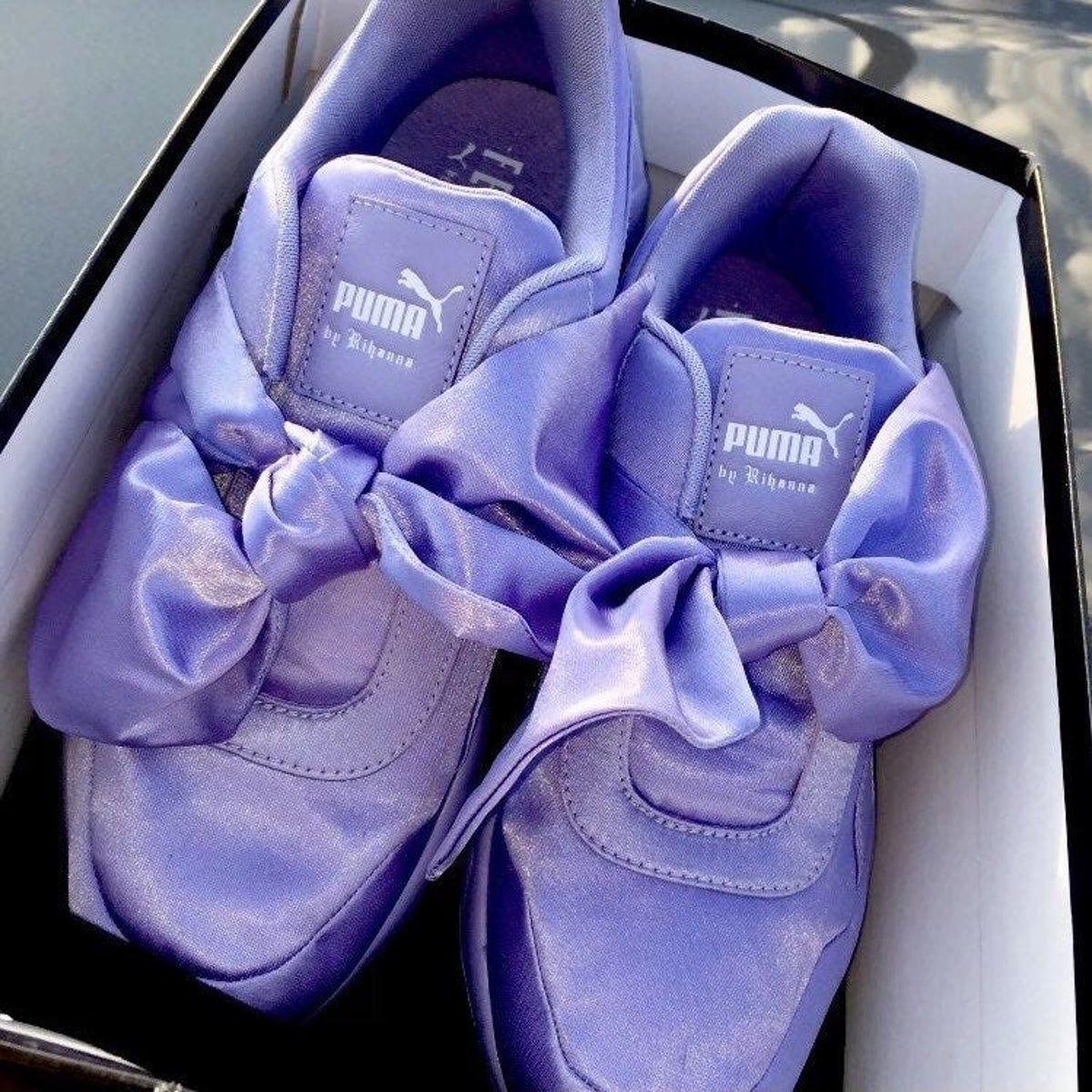Puma rihanna, Bow sneakers, Sneakers