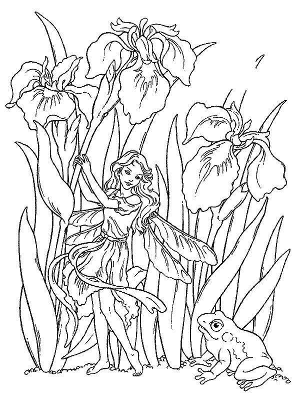 Dibujos para Colorear Fantasia 15 … | Diseños blanco y negro ...