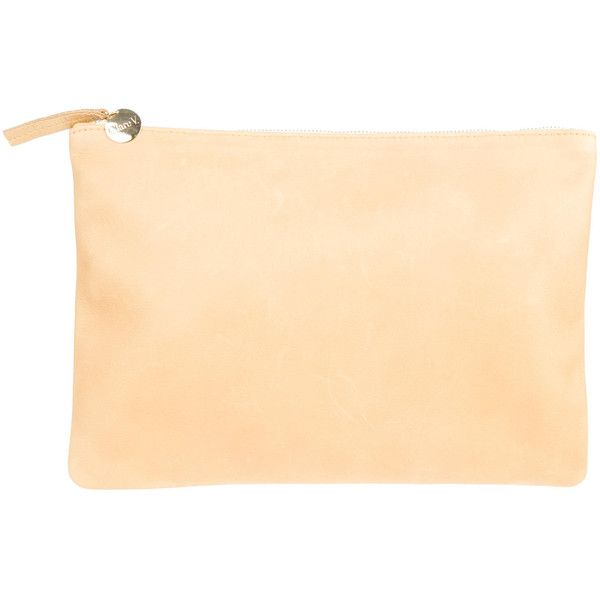 Clare V Pre-owned - LEATHER CLUTCH PURSE oWtC7VthKs