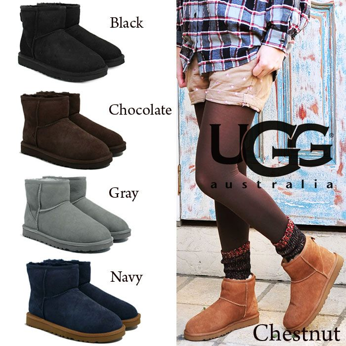 ugg classic mini ankle boots chocolate