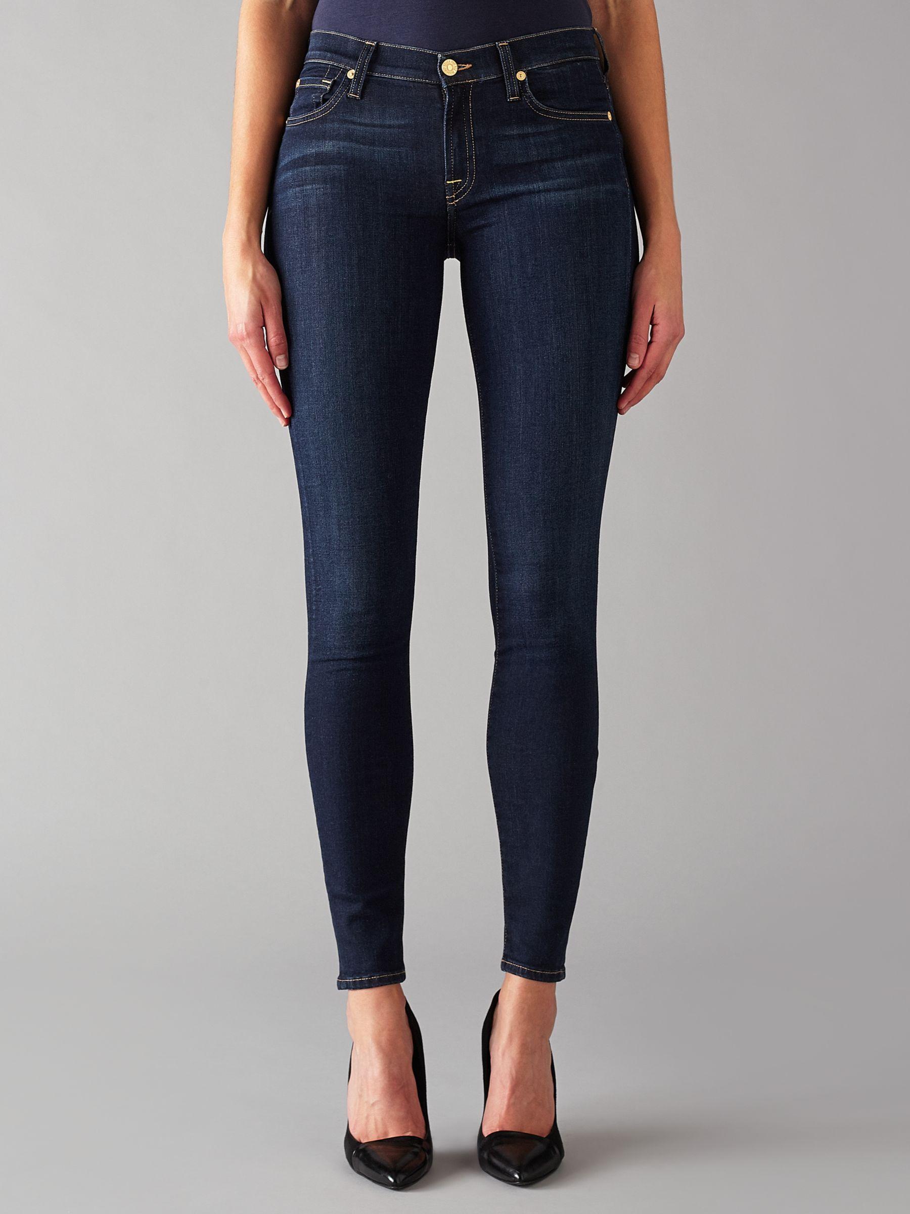 7 For All Mankind The Skinny B Air Jeans Rinsed Indigo Denim