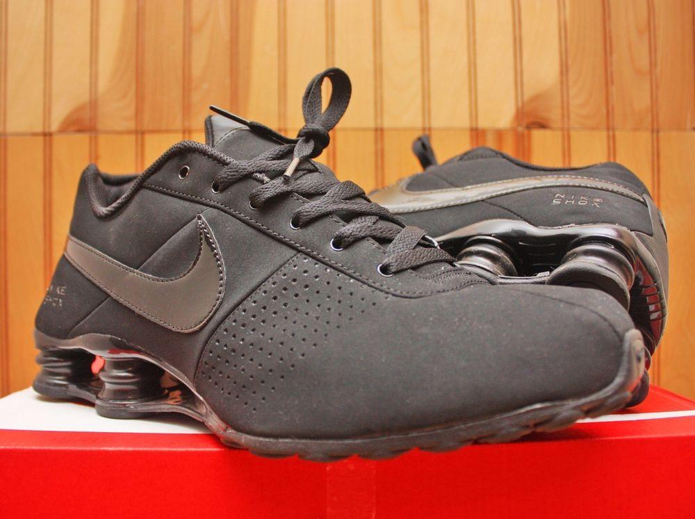 Nike Shox Deliver Size 11 - Triple Black Out - 317547 034 - W Champs  Sticker  Nike  RunningCrossTraining 2be1ec146