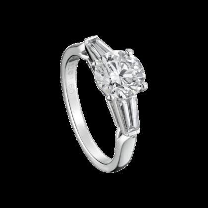Solitar 1895 Platin Diamanten Fine Verlobungsringe Fur Damen