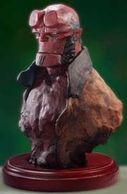 Hellboy Museum Bust