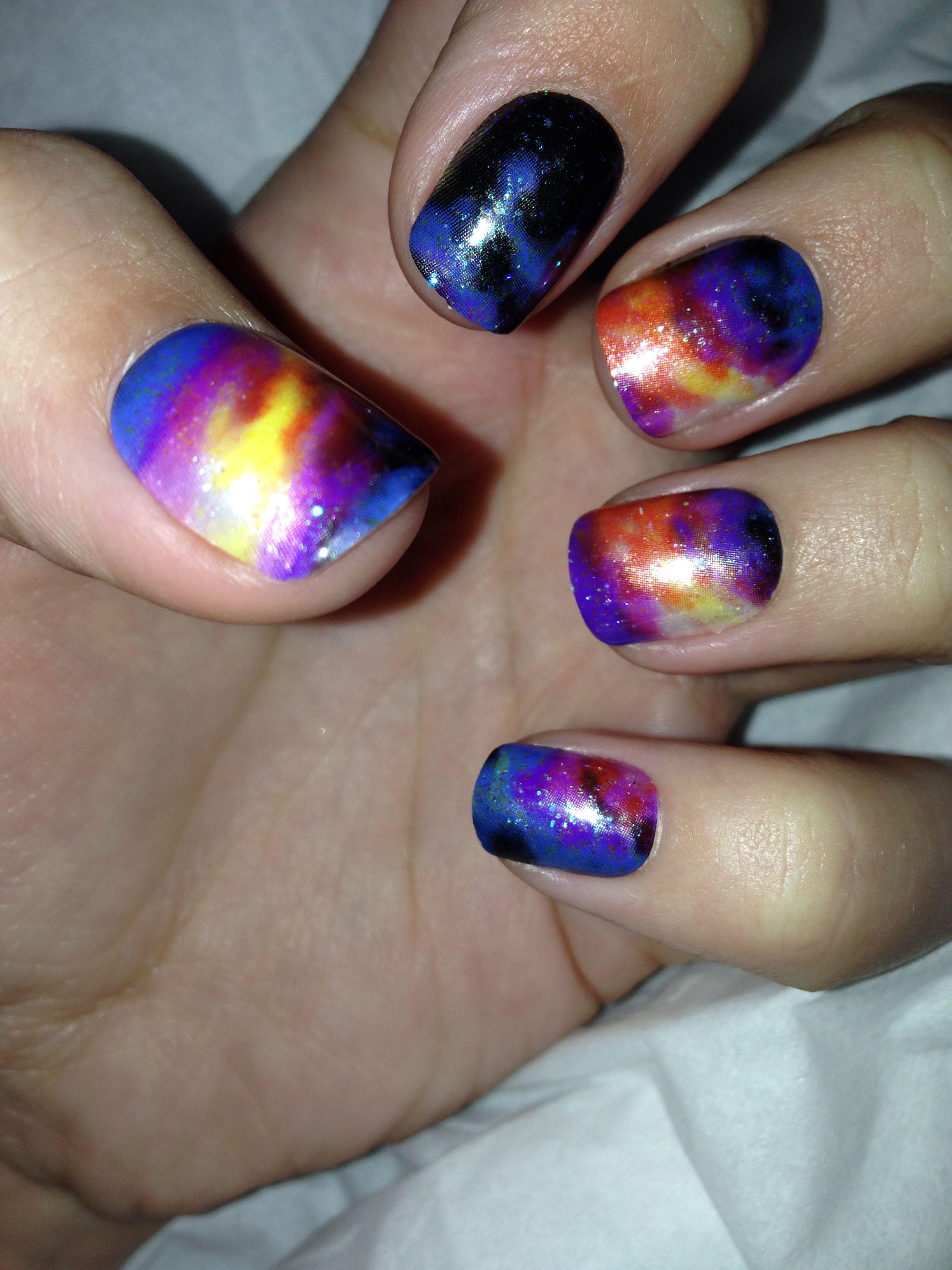 Galaxy impress manicure impress manicure manicure nails