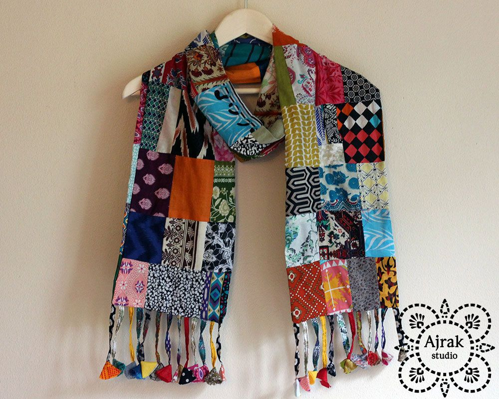 women gift festival style scarf Vintage 70\u2019s tie died pastel colours scarf soft print colourful scarf hippie scarf hipster scarf