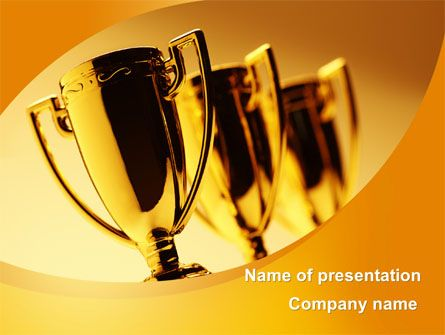 Httppptstarpowerpointtemplatewinner goblets winner presentation templates pronofoot35fo Images