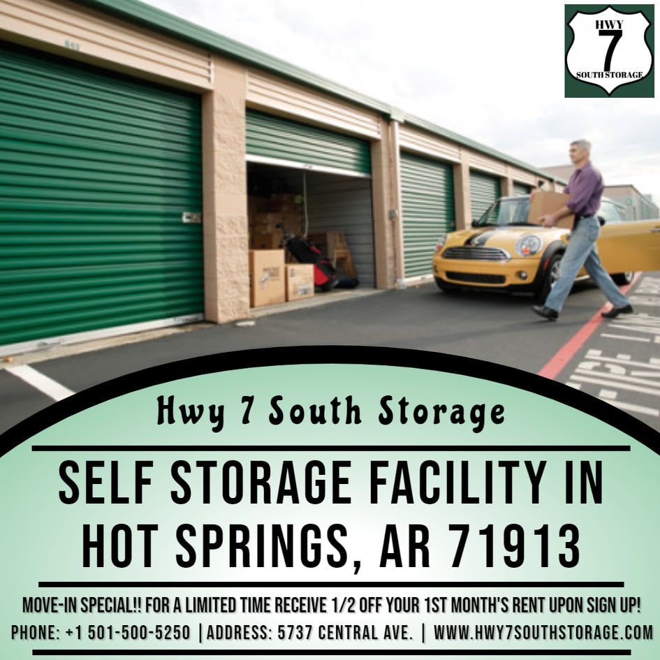 Self Storage In Hot Springs Ar Self Storage Storage Facility Storage Rental