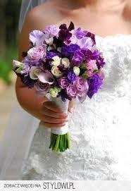 Znalezione Obrazy Dla Zapytania Fioletowe Bukiety Slubne Purple Wedding Flowers Purple Wedding Bouquets Purple Wedding