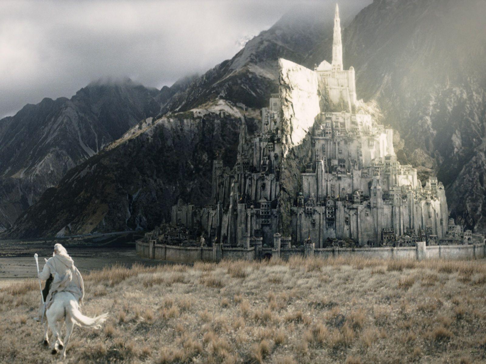 Gandalf Gondor Ian Mckellen Minas Tirith The Lord of the
