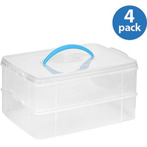 Snapware Snap N Stack Storage Unit 10 X 14 2 Layer Walmart Com Snapware Storage Unit Plastic Container Storage