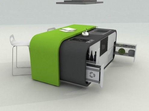 Cocinas del futuro   Diseño de cocina moderno, Diseño de cocina y ...