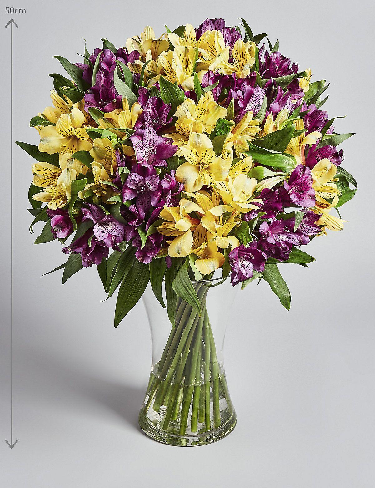 Alstroemeria abundance bouquet fresh flowers online