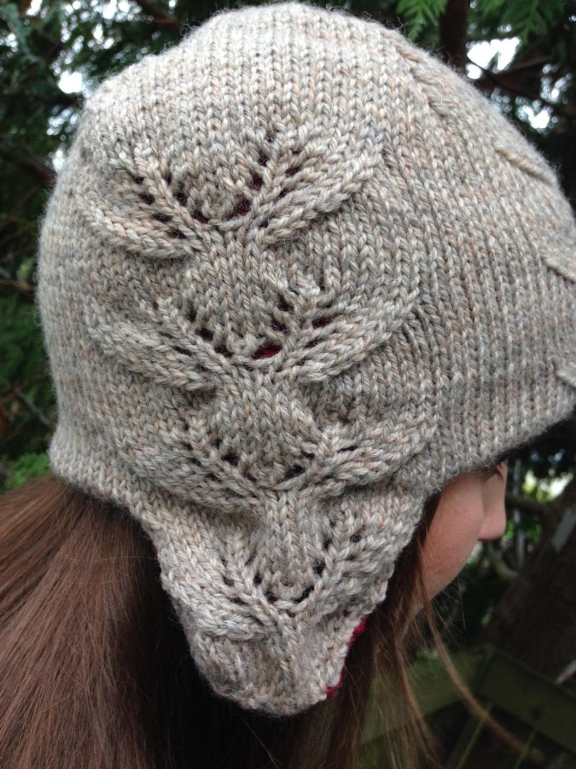 Eight tiny reindeer ear flap hat knitting pattern | Etsy ...