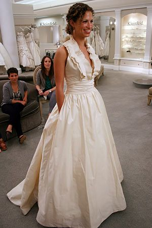 Casual With Pockets Yet So Classy Wedding Dresses Wedding Dress Pictures Halter Wedding Dress