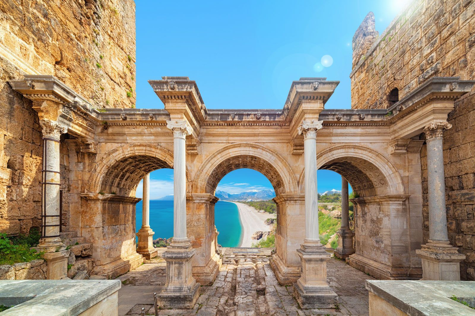 History Behind The Name Antalya The City Was Known As Attaleia Attalia Satalia And Andalya As It Was Founded By The K Antalya Turkey Travel Entrance Gates