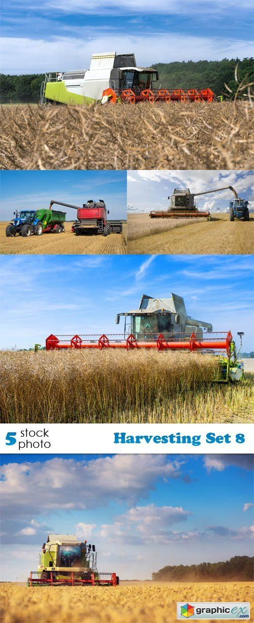 Photos  Harvesting Set 8  stock images